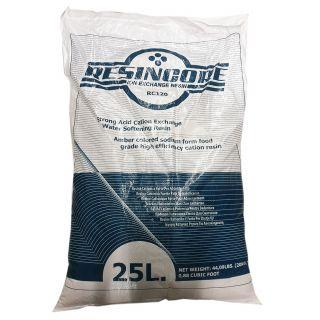 Resincore RC120 sacchi resina cationica forte per addolcimento 1 lit.