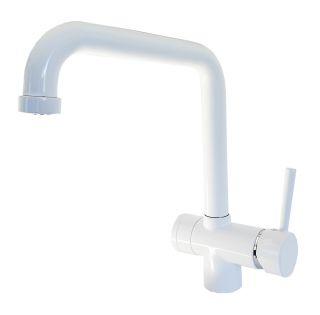 Rubinetto ForHome® 3 Vie PWP Per Acqua Depurata Rubinetto Per Depuratore (colore: Bianco)