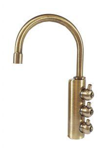 Rubinetto ForHome® 3 Vie Per Acqua Depurata Rubinetto Per Depuratore (colore: Bronzo)