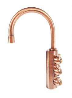 Rubinetto ForHome® 3 Vie Per Acqua Depurata Rubinetto Per Depuratore (colore: Rame)