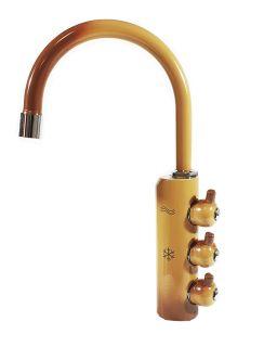 Rubinetto ForHome® 3 Vie Per Acqua Depurata Rubinetto Per Depuratore (colore: Terra di Francia) (or)