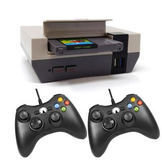 Retro Arcade Game Console Nespi RaspBerry PI4 4GB Ram RetroPie SSD 480GB, 2 usb joysticks, 113 Emulators 20000 Games
