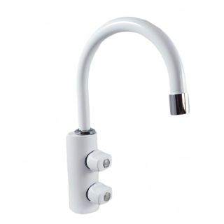 ForHome® 2 Way Tap For Purified Water Tap For Purifier (color: white)