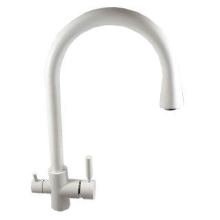 ForHome® 3 Way Tap For Purified Water Tap For Purifier (color: White)