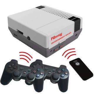 Retro Game Arcade Console PiBoxy Nespi Case RetroPie Rear console with Case Nespi and micro sd 64GB 2 joysticks Wirel