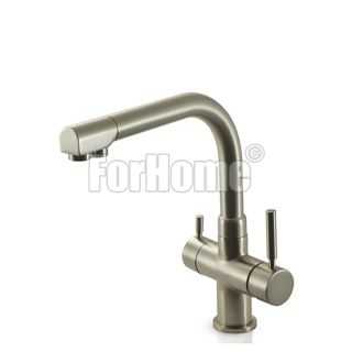 ForHome® 3 Way Tap For Purified Water Tap For Purifier (color: Matt Black)