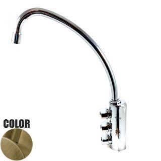 Rubinetto ForHome® 3 Vie Per Acqua Depurata Rubinetto Per Depuratore (colore: Bronzo) 3033-BR (or)