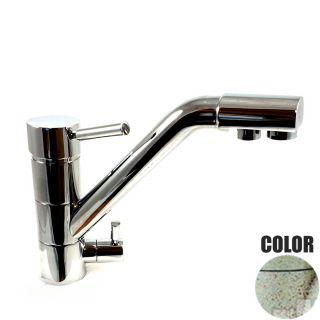 Rubinetto ForHome® 3 Vie Per Acqua Depurata Rubinetto Per Depuratore (colore: Granito Avena Fragranite ) 3038-GA (or)
