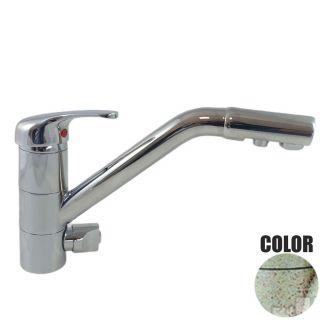 Rubinetto ForHome® 3 Vie Per Acqua Depurata Rubinetto Per Depuratore (colore: Granito Avena Fragranite) 3006-GA (or)