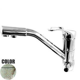 Rubinetto ForHome® 3 Vie Per Acqua Depurata Rubinetto Per Depuratore (colore: Granito Avena Fragranite) 3036-GA (or)