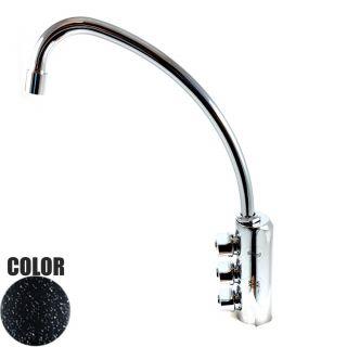Rubinetto ForHome® 3 Vie Per Acqua Depurata Rubinetto Per Depuratore (colore: Granito Nero) 3033-GN (or)