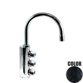 Rubinetto ForHome® 3 Vie Per Acqua Depurata Rubinetto Per Depuratore (colore: Granito Nero) 3034-GN (or)