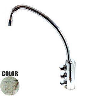 Rubinetto ForHome® 3 Vie Per Acqua Depurata Rubinetto Per Depuratore (colore: Granito Vecchia Pietra) 3033-GP (or)