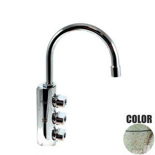 Rubinetto ForHome® 3 Vie Per Acqua Depurata Rubinetto Per Depuratore (colore: Granito Vecchia Pietra) 3034-GP (or)