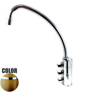 Rubinetto ForHome® 3 Vie Per Acqua Depurata Rubinetto Per Depuratore (colore: Terra di francia) 3033-TF (or)
