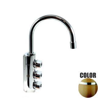 Rubinetto ForHome® 3 Vie Per Acqua Depurata Rubinetto Per Depuratore (colore: Terra di Francia) 3034-TF (or)