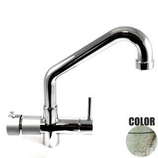 Rubinetto ForHome® 5 Vie PWP Per Acqua Depurata Rubinetto Per Depuratore (colore: Granito Vecchia Pietra) 5010-GP (or)