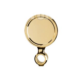 """Brass Color Abs Replacement Medallion For Cobra Ice Column Diameter 90mm G 5/8 """""""