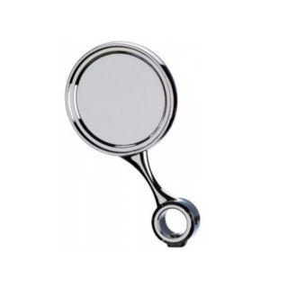 Ricambio medaglia inclinata Ø90 con distanziale - G5/8 - ABS colore cromo (per colonna Palmer) (or)