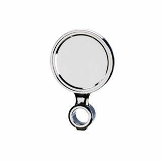 Ricambio medaglia Ø90 con distanziale - G5/8 - ABS colore cromo (per colonna Palmer) (or)