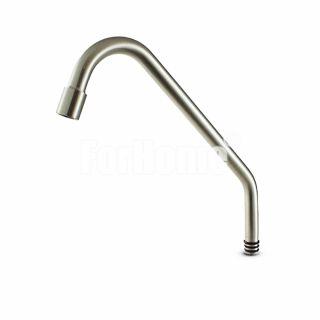Canna di Ricambio con areatore per rubinetto mod. 10003043-NS (colore nickel spazzolato) (or)