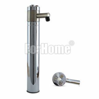 Colonna per Spillatura Acqua Depurata ForHome® Balance 3 Vie acciaio inox con pulsanti incisi a laser (or)