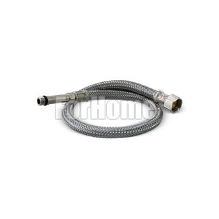 """Flexible 4-way water purifier mix taps with extension (4.5cm) 10x1 M. - 3/8 """"F. (50 cm.)"""