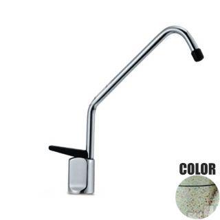 Rubinetto ForHome® Long 1 Via Per Acqua Depurata Rubinetto Per Depuratore 1001-GA (colore granito avena) (or)