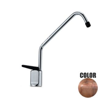 ForHome® Long 1 Way Tap For Purified Water Tap For Purifier 1001-BR (copper color)