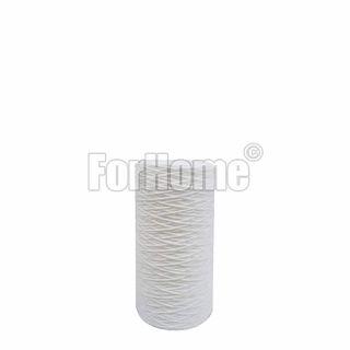 """Ionicore Cartuccia BIG Filtro Sedimento Polipropilene Avvolto 10"""" 1 Micron (or)"""