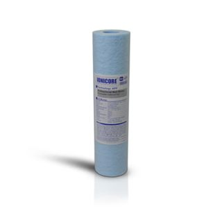 "Ionicore Blue Antibacterial Blown Polypropylene Sediment Filter Cartridge 10 ""- 5 Micron"