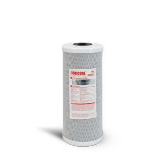 """Ionicore Cartuccia BIG Filtro CAB carbon block 10"""" - 10 micron (or)"""
