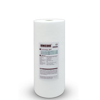 """Ionicore Cartuccia BIG Filtro Sedimento Polipropilene Soffiato 10"""" - 10 Micron (or)"""