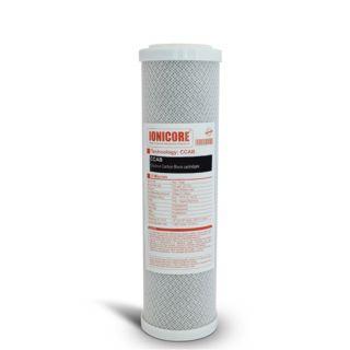 """Ionicore Cartuccia Filtro Carbon Block al cocco 2,5""""x10"""" - 5 micron (or)"""