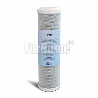 "Carbon Block cartridge 2,5 ""x9-7 / 8"" - 10 micron"