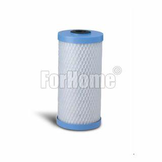 """Green Filter cartridge BIG Filter CAB carbon block 10 """"- 10 micron"""