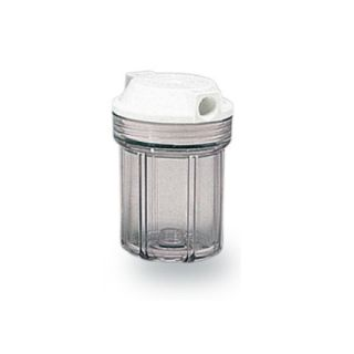"""Water Filter Container 5 """"In / Out 1/2"""" Col. Transparent ForHome"""