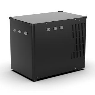 Refrigeratore Gasatore Per Bar Ristorante ForHome® G2 Black Per Acqua Depurata Da Sotto O Sopra Banco 3 Vie Acqua Gasata