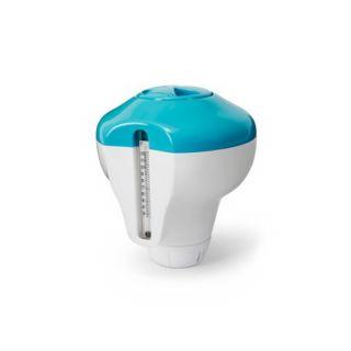 Dispenser Cloro per Piscine con Termomentro Integrato, Intex 29043