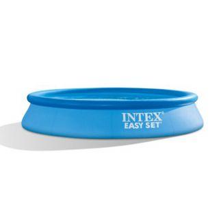 Piscina Intex Fuori Terra Rotonda Gonfiabile Easy set Pools dim. 305 x 61 cm, Litri 3.077, con Pompa Filtro