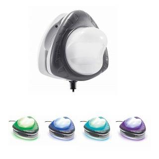 Luce Magnetica Led Multicolor per Piscine Frame Fuori Terra Intex, Bestway, alimentazione 220-240v