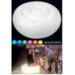 Luminous Armchair / Footrest for Indoor, Outdoor, Swimming Pool, Multicolor Led USB Rechargeable