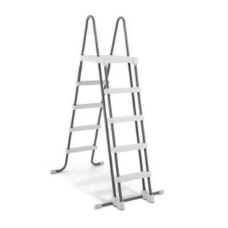 Double Ladder with Detachable Steps, 132cm, Intex cod. 28077