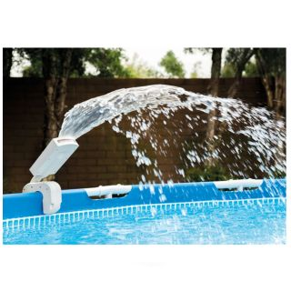 Water Fountain Sprinkler for Fouri Terra Pools with Multicolor Led. Intex cod. 28089