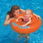 Inflatable Floating Donut for Pool / Sea Intex Fluo Panty Life Buoy 76 cm
