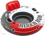 Inflatable Floating Donut for Pool / Sea Life Buoy with Intex Red River Net 135 cm