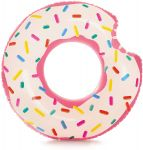 Ciambella Galleggiante Gonfiabile per Piscina/Mare Salvagente Donuts Intex cm 94x23