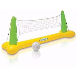 Gioco Volley Gallegiante Gonfiabile per Piscina cm 239x64x91 Intex 56508