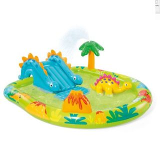 Gonfiabile Giochi Bambini Scivolo Acqua Intex cm 191x152x58