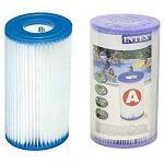 Intex Cartuccia Filtro A Media - Altezza 20 cm, diametro esterno: 10,7 cm, diametro interno 4,7 cm - Intex 29000